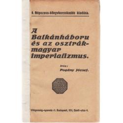 A Balkánháboru és az ostrák-magyar imperializmus (1912)