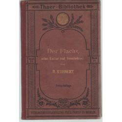 Der Flachs, Seine Kultur und Berarbeitung (1920)
