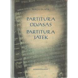 Partituraolvasás, partiturajáték