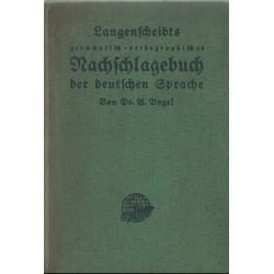 Ausführliches grammatisch-orthographisches Nachschlagebuch der deutschen Sprache