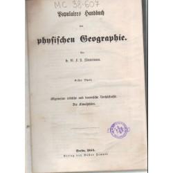 Populaires Handbuch der physischen Geographie (1854)