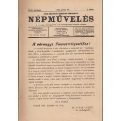 Jász-Nagykun-Szolnokvármegyei Népművelés (1942)
