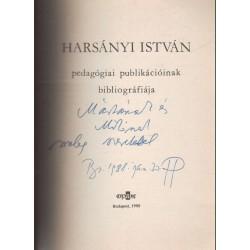 Harsány István pedagógiai publikációjának bibliográfiája