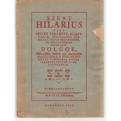 Szent Hilarus