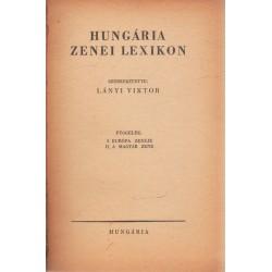 Hungária zenei lexikon