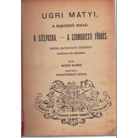 Ugri Matyi, a bajszerző holló