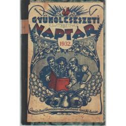 Gyümölcsészeti naptár az 1932. évre