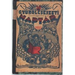 Gyümölcsészeti naptár az 1933. évre