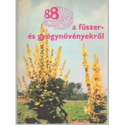 88 színes oldal a fűszer- és gyógynövényekről