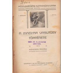 Vasúti könyvek 1908-1909 (11 kötet egyben)