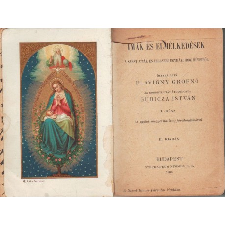 Imák és elmélkedések (1906)