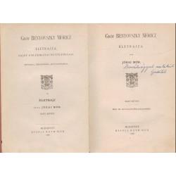 Gróf Benyovszky Móricz életrajza (1888)