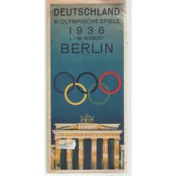 Berlin Olympia, Deutschland, 1936