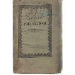 Erdélyi prédikátori tár II. füzet