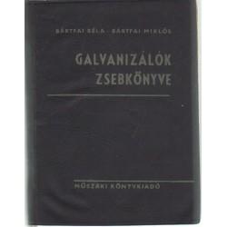 Galvanizálók zsebkönyve