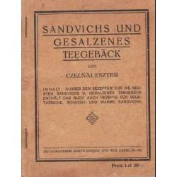Sandvichs und Gesalzenes Teegebäck