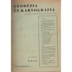 Geodéziai jegyzet