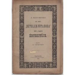 Nagy-enyedi Ev.Ref. Bethlen-Főtanoda értesítője 1881-1882
