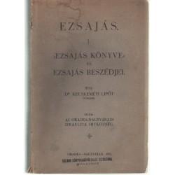Ezsajás I-III. kötet - Kecskeméti Lipót 1935