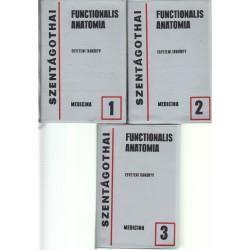 Functionalis anatomia I-III. kötet