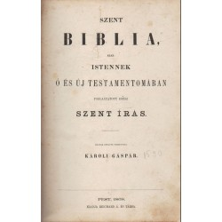 Szent Biblia 1868