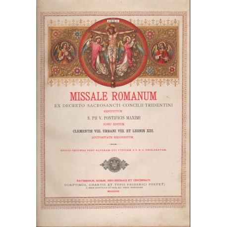 Római Nagy Misekönyv 1903 (latin)
