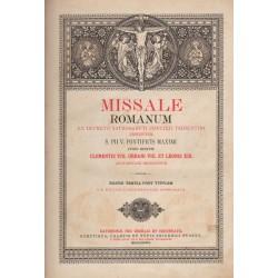 Római Nagy Misekönyv 1889 (latin)