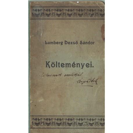 Lamberg Dezső Sándor költeményei