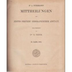 Mittheilungen aus Justus Perthes' Geographischer anstalt