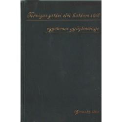 Közigazgatási elvi határozatok egyetemes gyűjteménye III. kötet