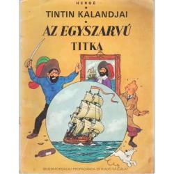 Tintin kalandjai - Az egyszarvú titka