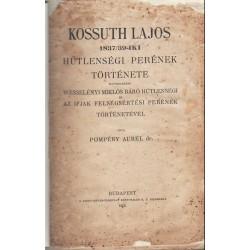 Kossuth Lajos 1837-1839-i hűtlenségi perének története