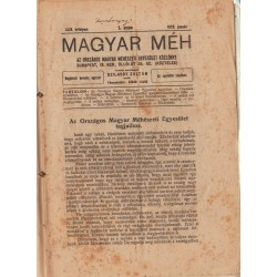 Magyar Méh folyóirat (2 évfolyam egyben)