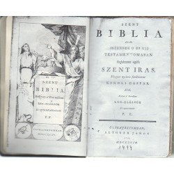 Szent Biblia 1747