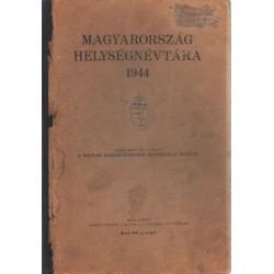 Magyarország helyiségnévtára 1944