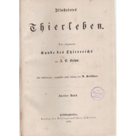 Illustrirtes Thierleben II-III. kötet