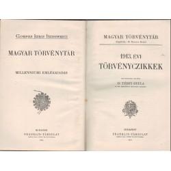 1913. évi törvénycikkel - Magyar törvénytár 1914