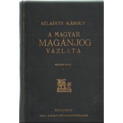 A magyar magánjog vázlata II. rész