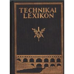 Technikai lexikon 1-2. kötet