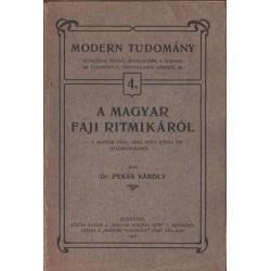 A magyar faji ritmikáról