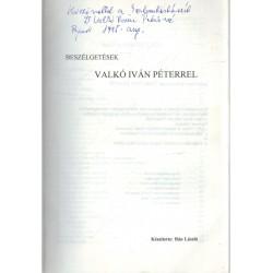 Beszélgetések Valkó Iván Péterrel (dedikált)