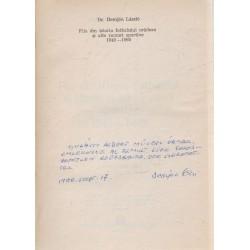 File din istoria fotbalului oradean si alte ramuri sportive (dedikált)