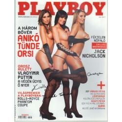 Playboy 2008. március (dedikált)