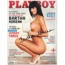 Playboy 2007.november (dedikált)