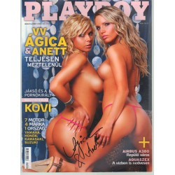 Playboy 2007.június (dedikált)