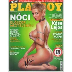 Playboy 2007. ápilis (dedikált)