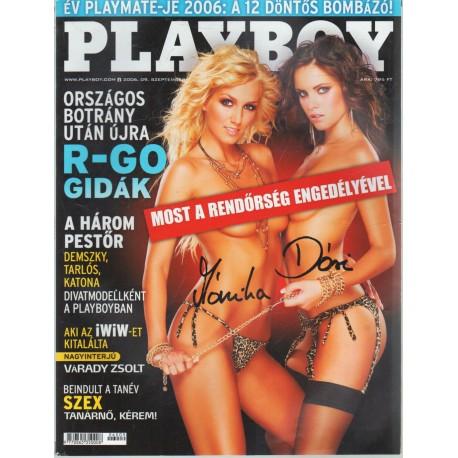 Playboy 2006. szeptember (dedikált)