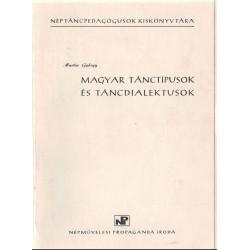 Magyar tánctípusok és táncdialektusok 1-4 kötet