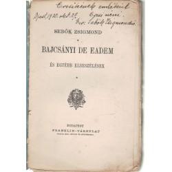 Bajcsányi De Eadem (dedikált)