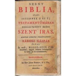 Szent Biblia 1764 Basileá
